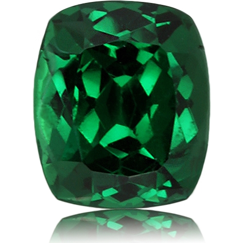 Tsavorite,Cushion 1.50-Carat
