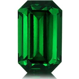 Tsavorite,Emerald Cut 1.68-Carat