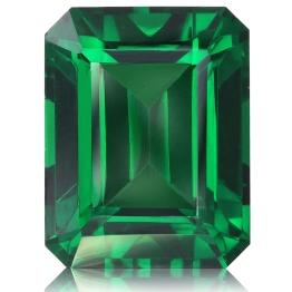 Tsavorite,Emerald Cut 2.78-Carat