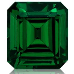 Tsavorite,Emerald Cut 2.46-Carat