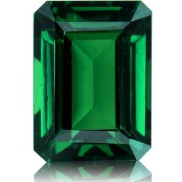 Tsavorite,Emerald Cut 2.13-Carat
