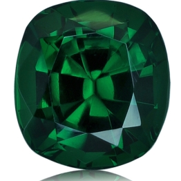 Tsavorite,Cushion 1.16-Carat