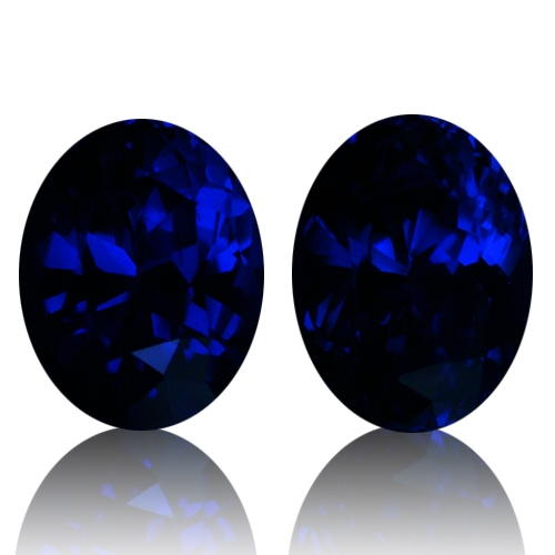 Tanzanite,Matched Pairs 11.54-Carat