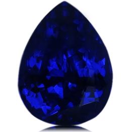 Tanzanite,Pear 4.87-Carat