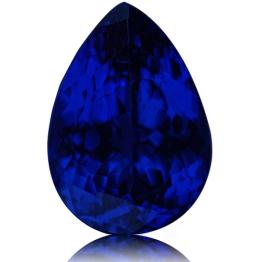 Tanzanite,Pear 5.44-Carat