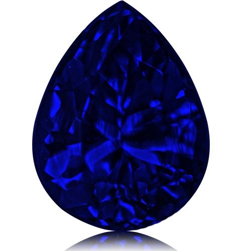 Tanzanite,Pear 2.71-Carat