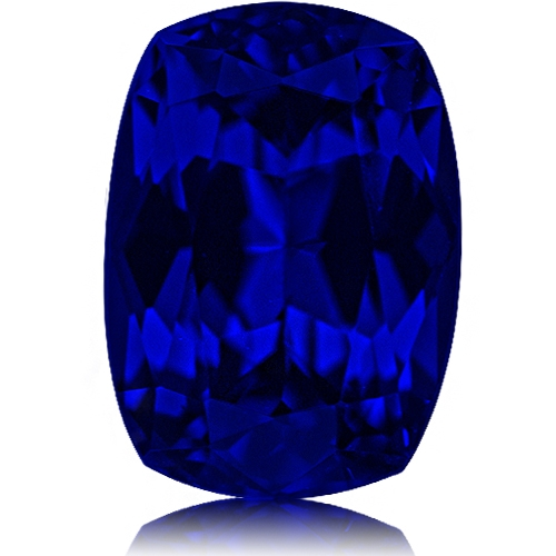 Tanzanite,Cushion 8.36-Carat