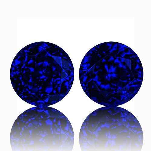 Tanzanite,Matched Pairs 22.44-Carat
