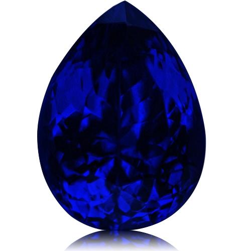 Tanzanite,Pear 5.97-Carat