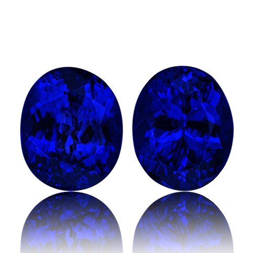 Tanzanite,Matched Pairs 5.23-Carat