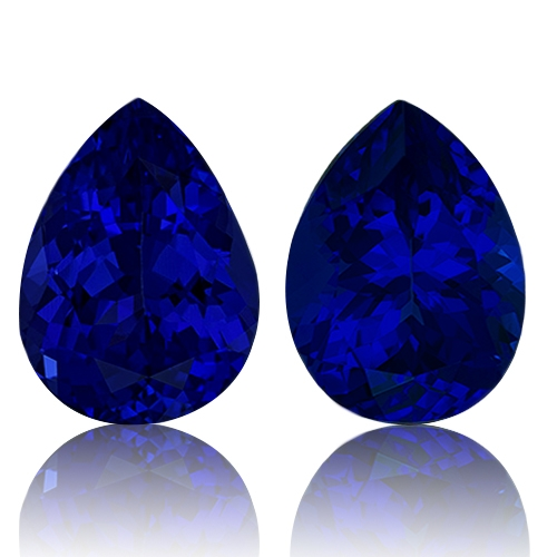 Tanzanite,Matched Pairs 5.75-Carat
