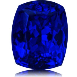 Tanzanite,Cushion 5.35-Carat