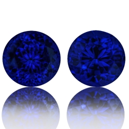 Tanzanite,Matched Pairs 6.51-Carat