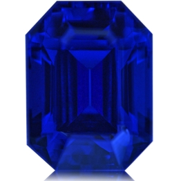Tanzanite,Emerald Cut 6.85-Carat