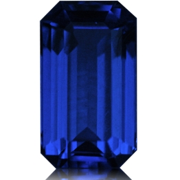 Tanzanite,Emerald Cut 1.64-Carat