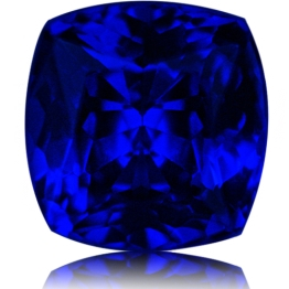 Tanzanite,Cushion 1.88-Carat