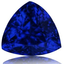 Tanzanite,Trillion 2.01-Carat