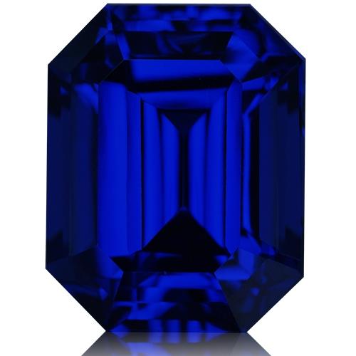 Tanzanite,Emerald Cut 14.38-Carat