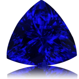 Tanzanite,Trillion 1.55-Carat