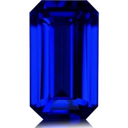 Tanzanite,Emerald Cut 2.15-Carat