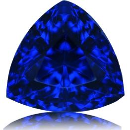 Tanzanite,Trillion 1.86-Carat