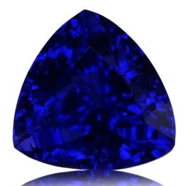 Tanzanite,Trillion 1.38-Carat