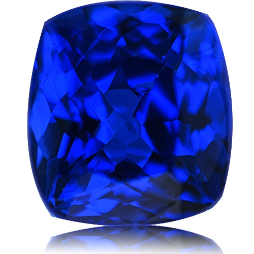 Tanzanite,Cushion 1.34-Carat