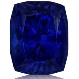 Tanzanite,Cushion 2.90-Carat