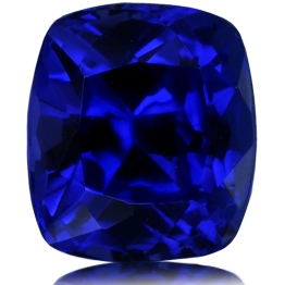 Tanzanite,Cushion 1.15-Carat