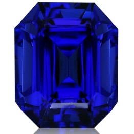 Tanzanite,Emerald Cut 6.50-Carat