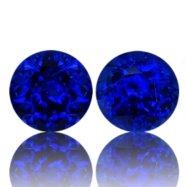 Tanzanite,Matched Pairs 5.81-Carat
