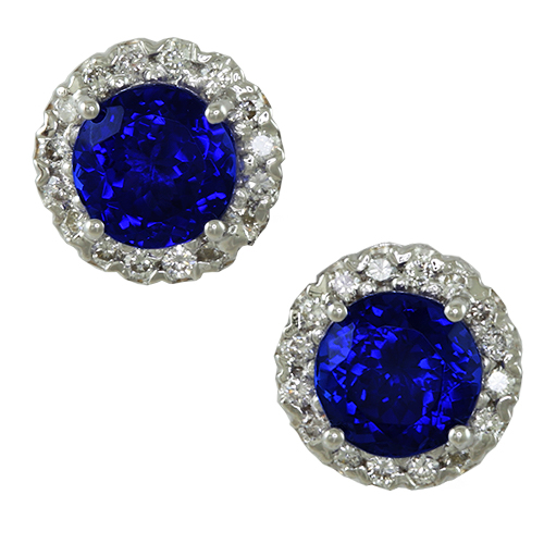 tanzanite-and-diamond-halo-stud-earrings-lste022