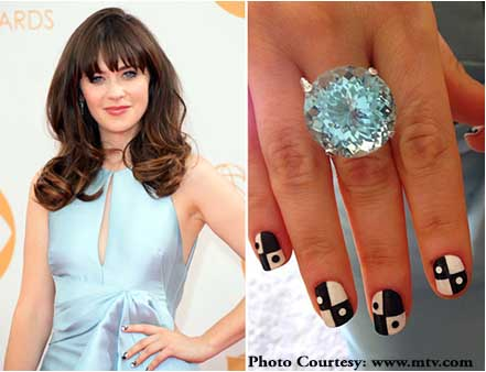 Zooey Deschanel Tourmaline Jewelry Emmy Awards 2013.jpg